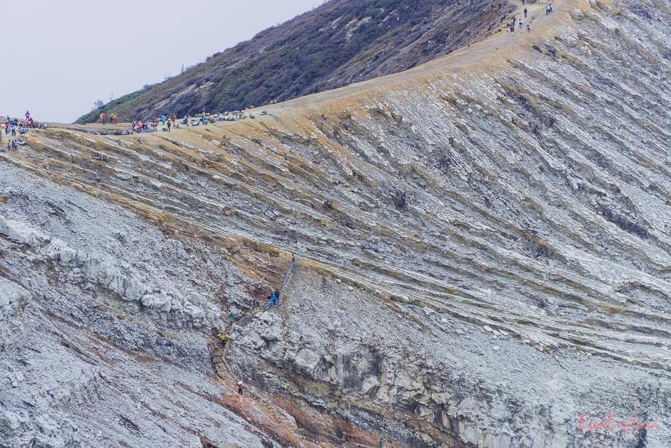 Der Weg in die Mine
