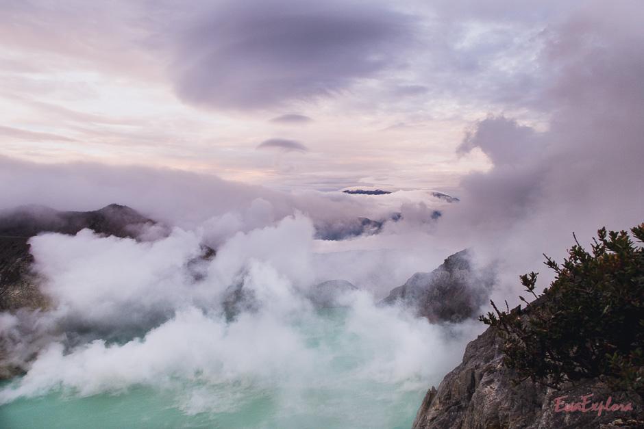 Mount Ijen Sonnenaufgang