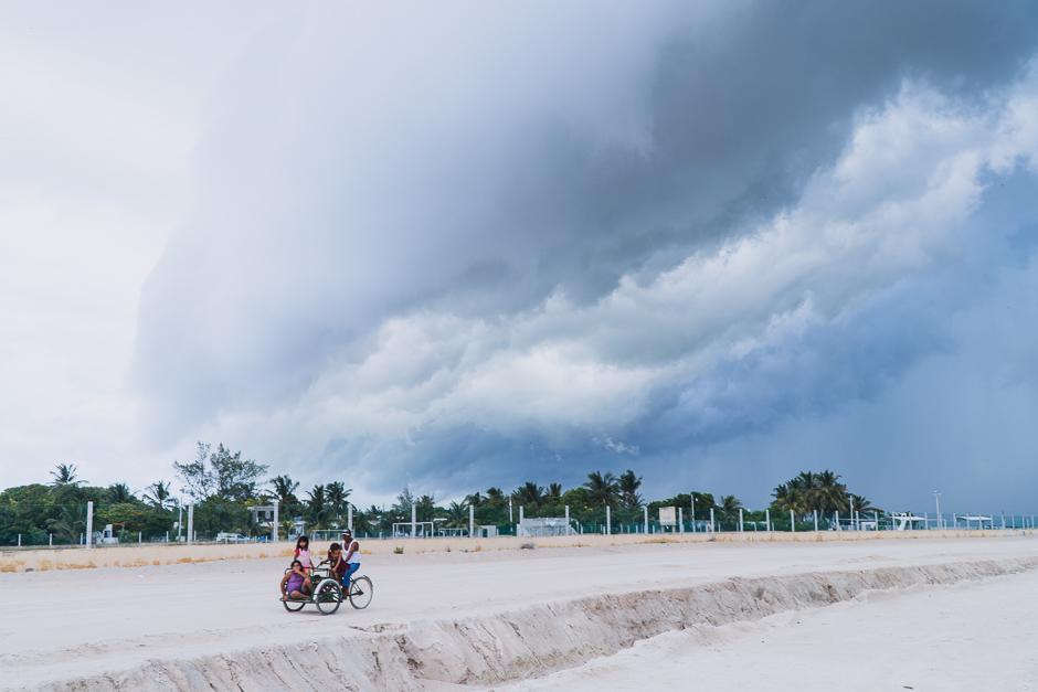 Sommer in Mexiko heisst Unwetter