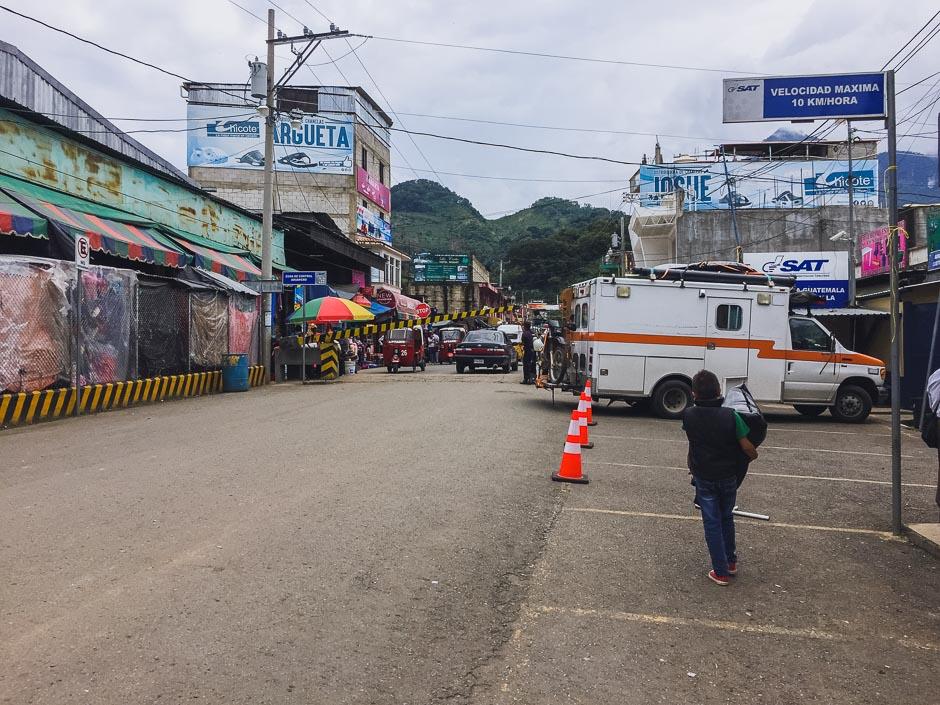 Grenze zwischen Mexiko und Guatemala