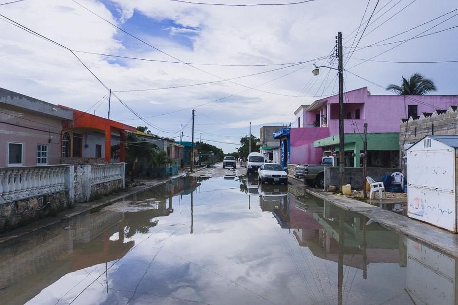 Regenzeit in Rio Lagartos
