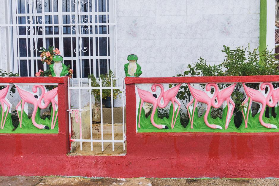 Gartenzaun in RioLagartos