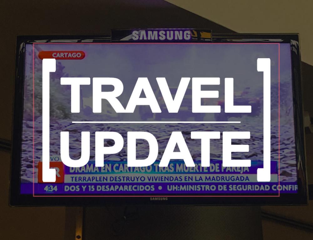 [Travel Update] – zum Abschluss ein Tropensturm