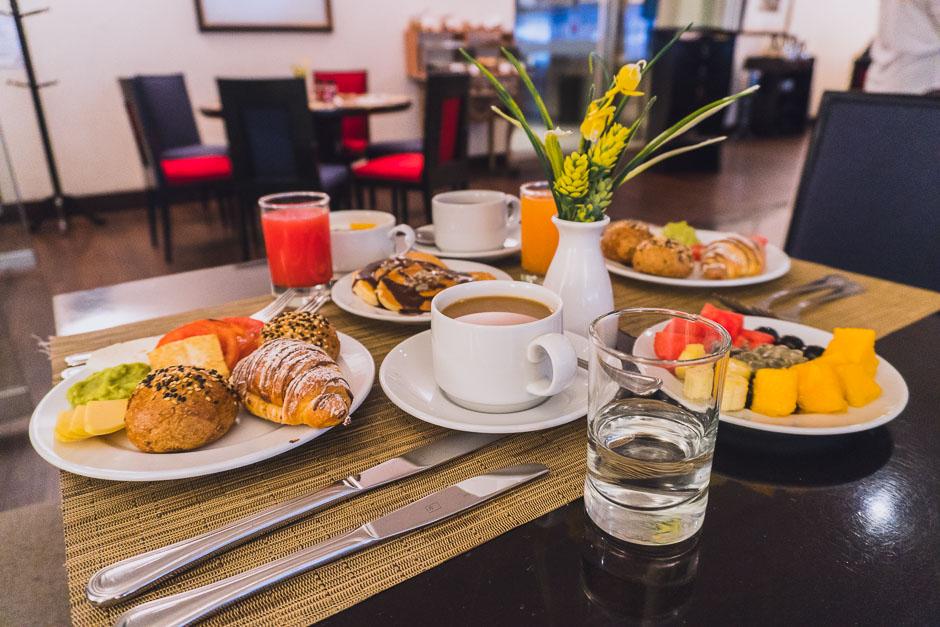 Frühstück im Casa Andina Premium Miraflores
