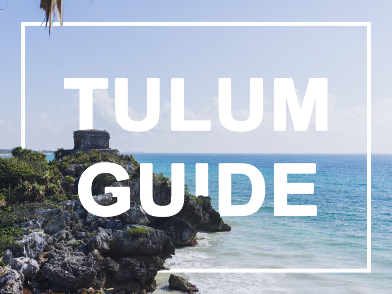 was tun in Tulum