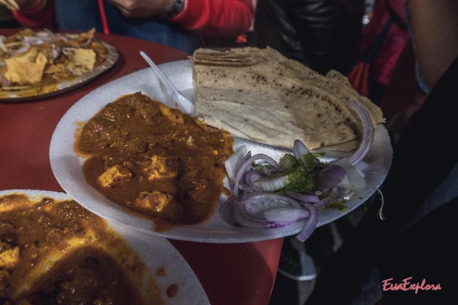 Essen in Delhi
