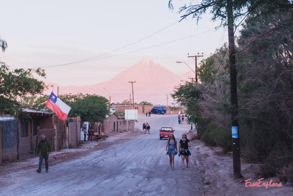 SanPedro_Chile Straße aus der Stadt