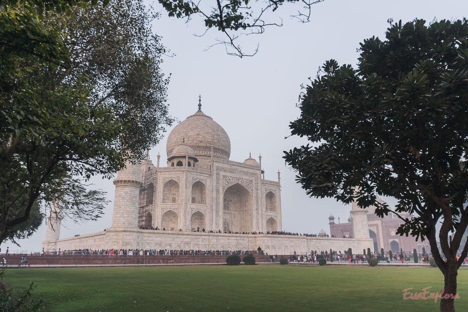 Indienrundreise mit TajMahal