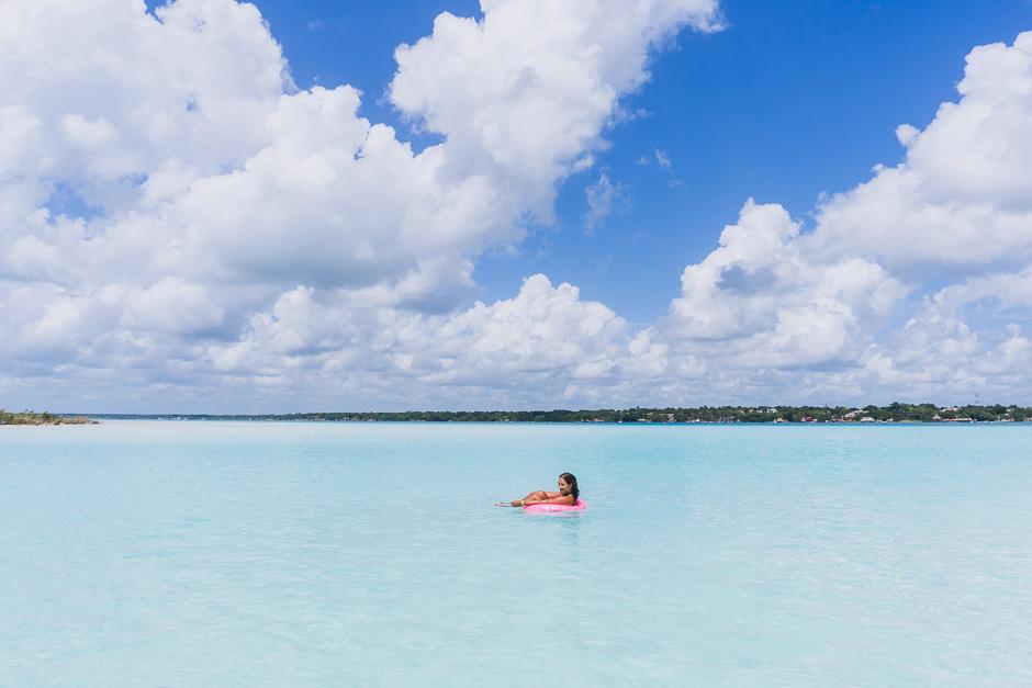 Laguna de las siete colores, Bacalar
