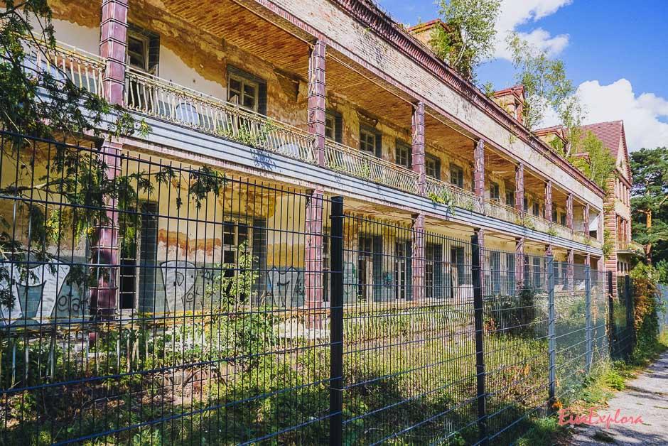 altes Krankenhaus in Beelitz