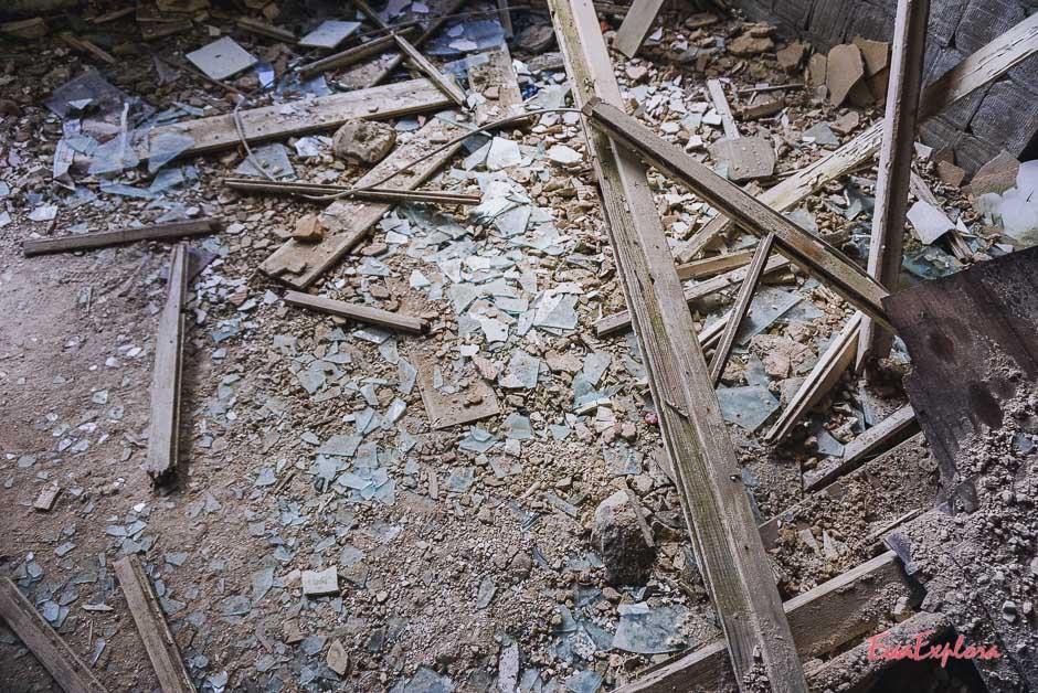 Vandalismus Beelitzer Heilstätten