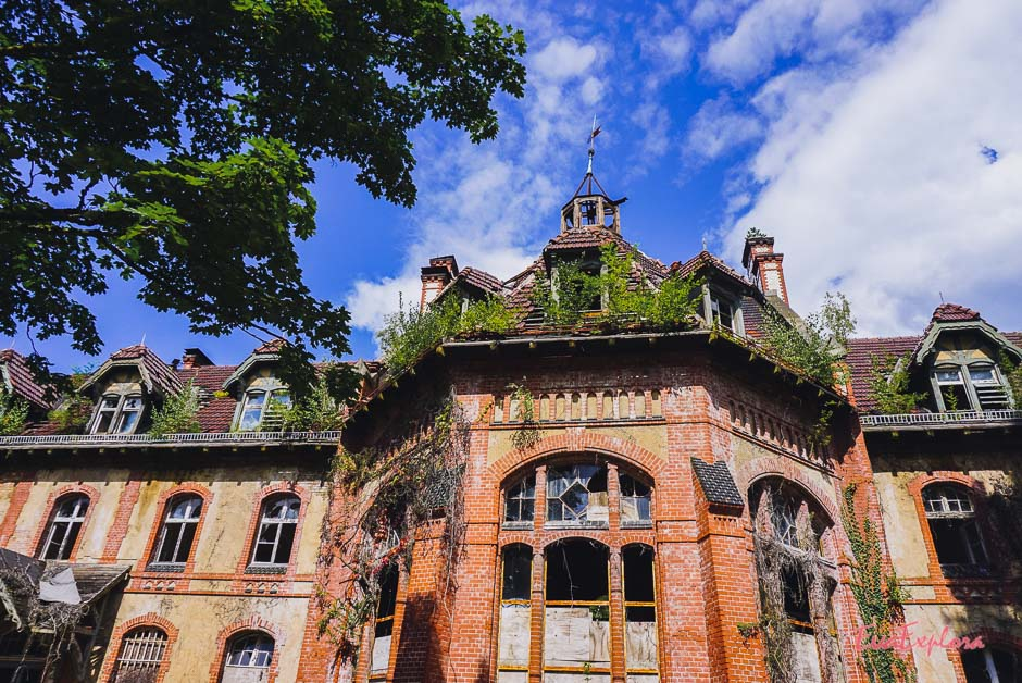 Villa von außen
