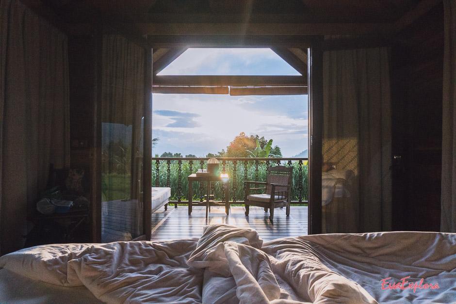 Morgensonne im Sanak