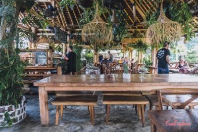 Blick durchs Restaurant