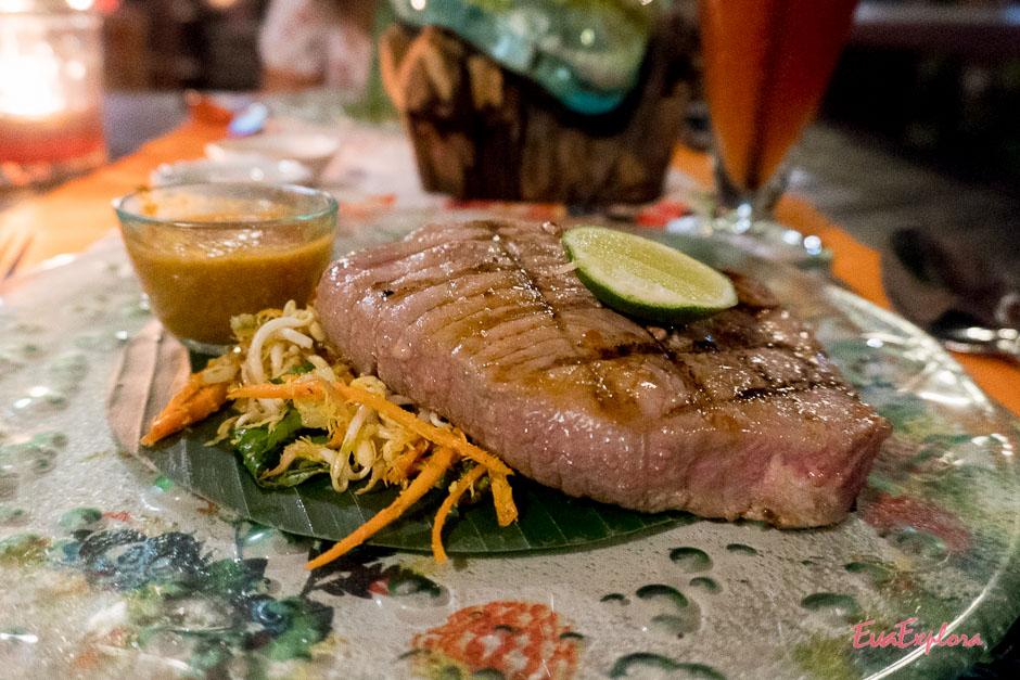 lecker Essen auf Bali