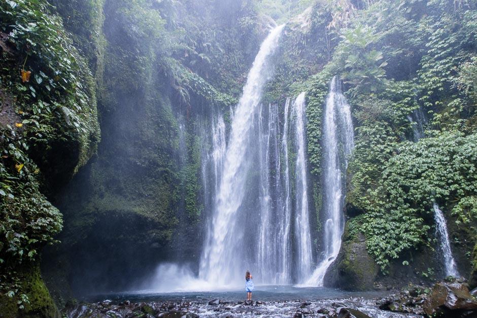 Wasserfall Lombok Indonesien