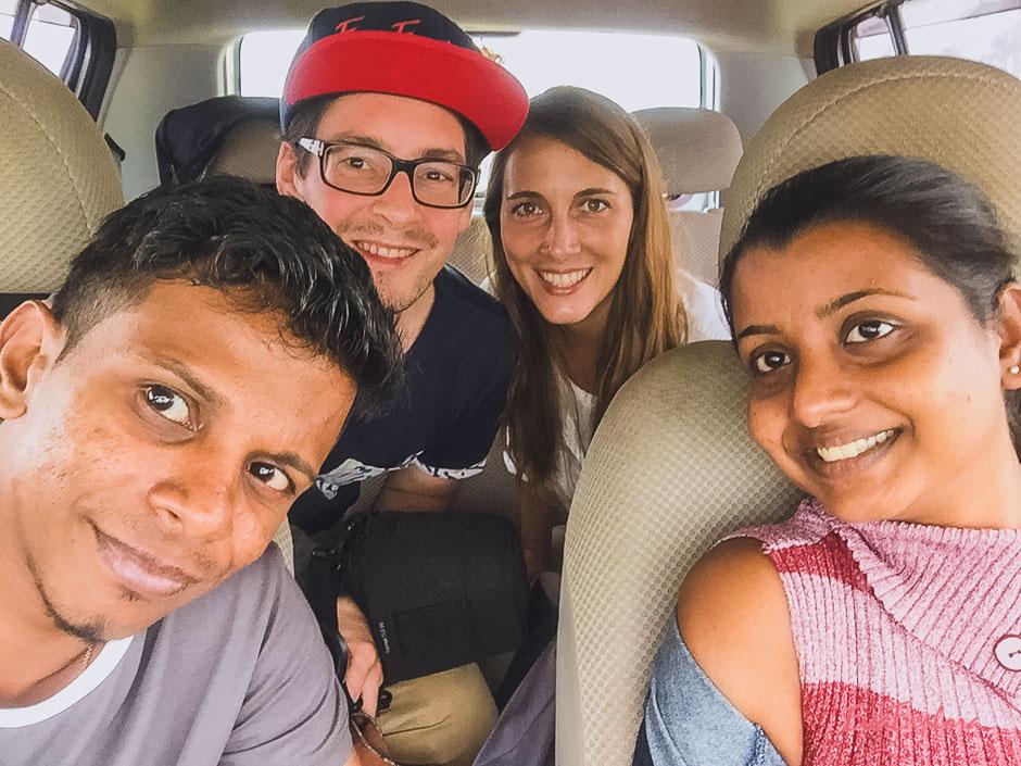 Paar in SriLanka