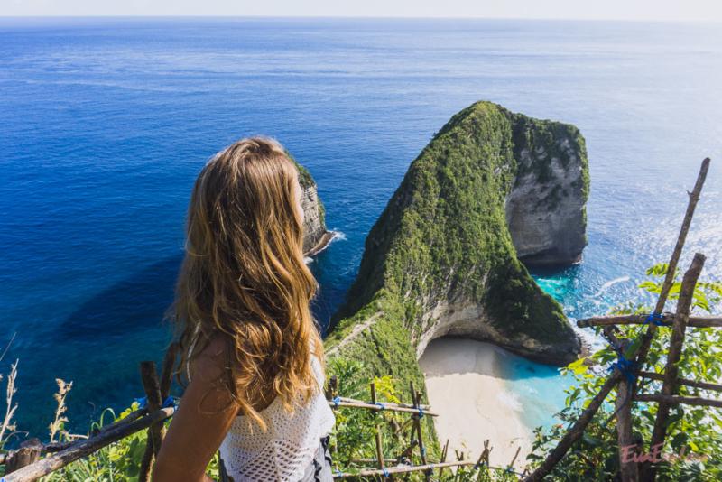 beruehmteste Klippe auf Balis Insel