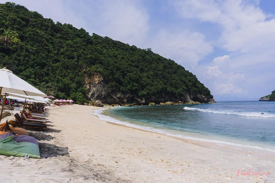 Atuh Beach Indonesien