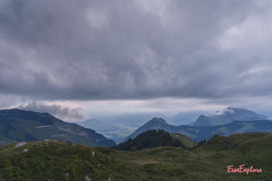 Reiterkogel Aussicht Saalbach