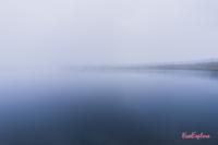 Speicherteich Wildenkarkogel bei Nebel