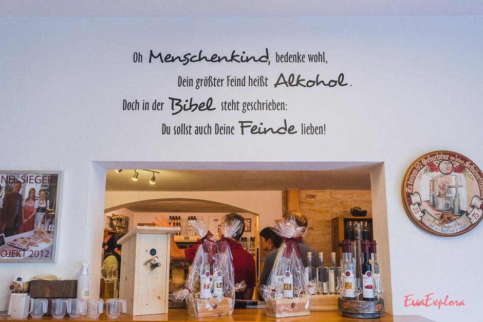 Schnapstasting Saalbach-Hinterglemm
