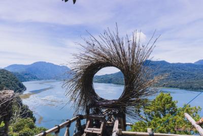Fotospot und Schaukel auf Bali