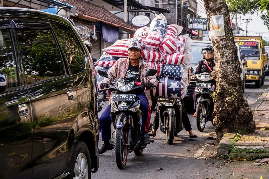 Transport auf Bali