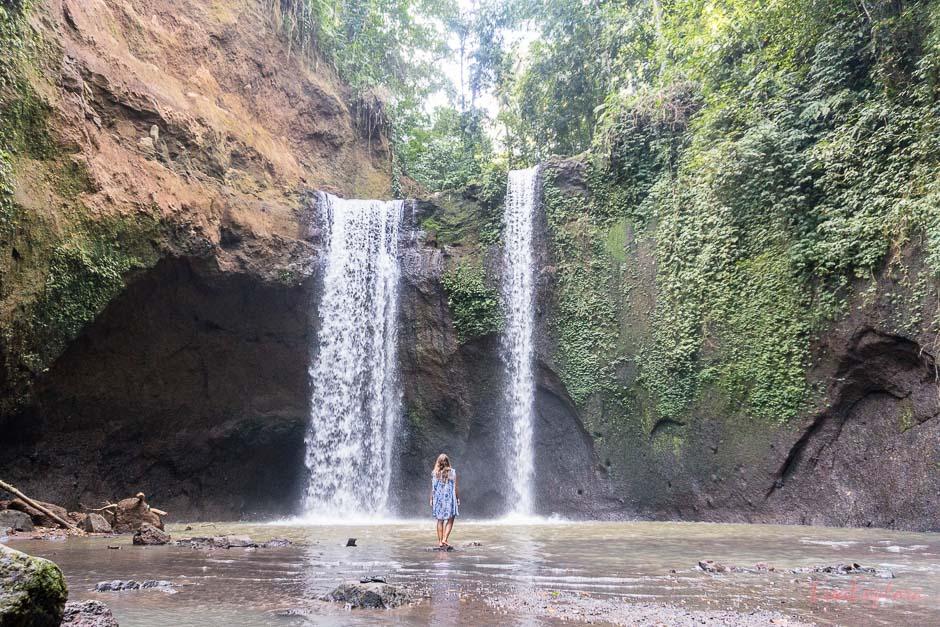 die schoensten Wasserfaelle auf Bali