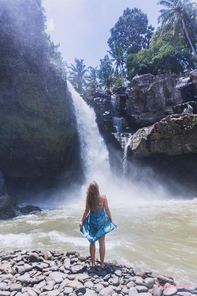 Indonesien hat zahlreiche Wasserfaelle