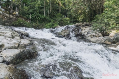 Bali hat viele Wasserfaelle