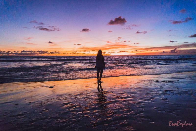 Sonnenuntergaenge auf Bali