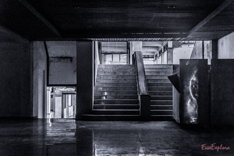 verlassener Geisterpalast