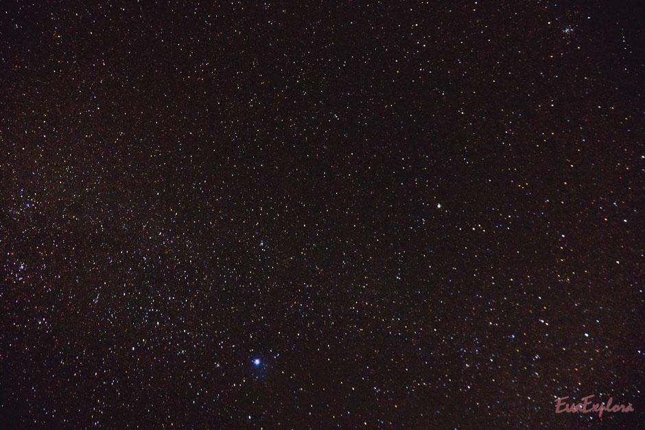 Sternenhimmel auf Bali