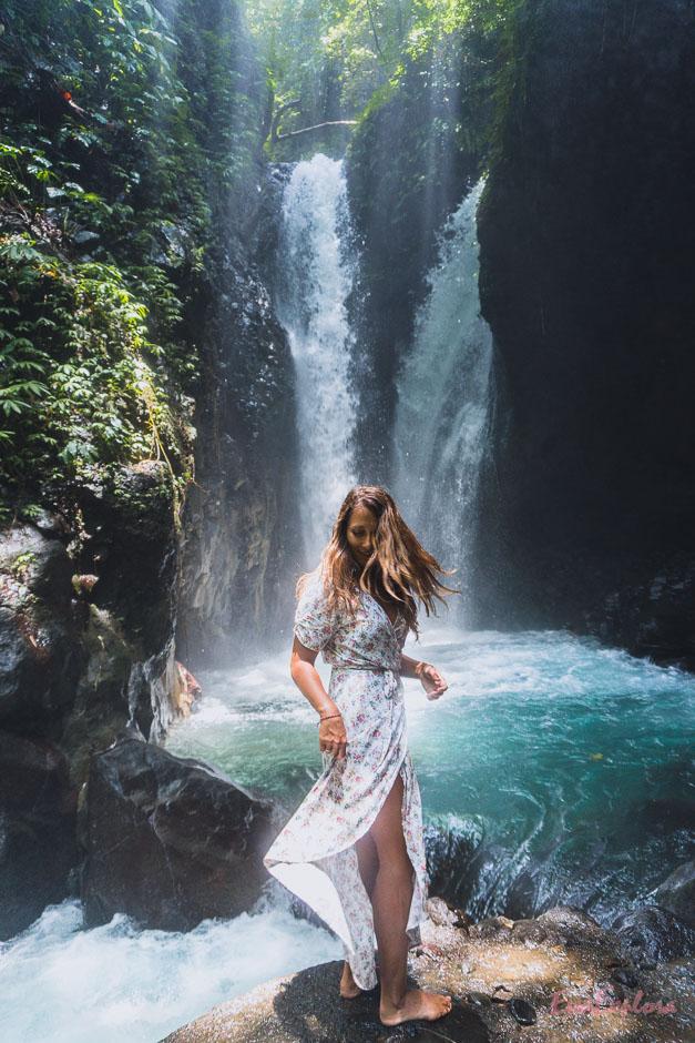 schoener Wasserfall Bali