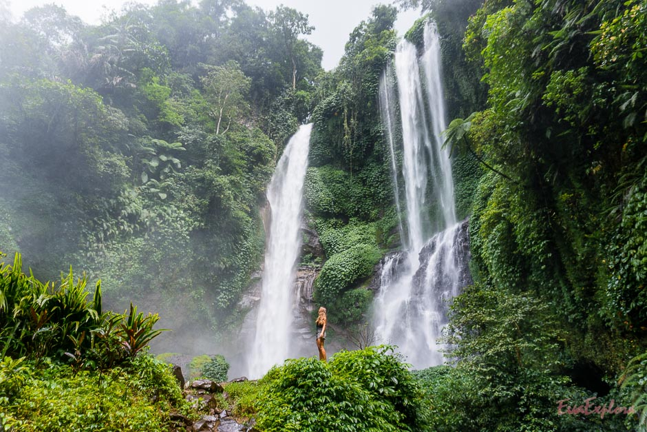 schoenster Wasserfall auf Bali