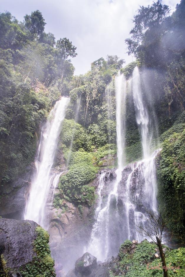 Wasserfall in Nordbali