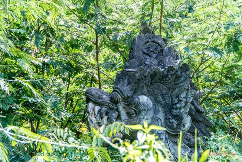 geheimer Garten Bali
