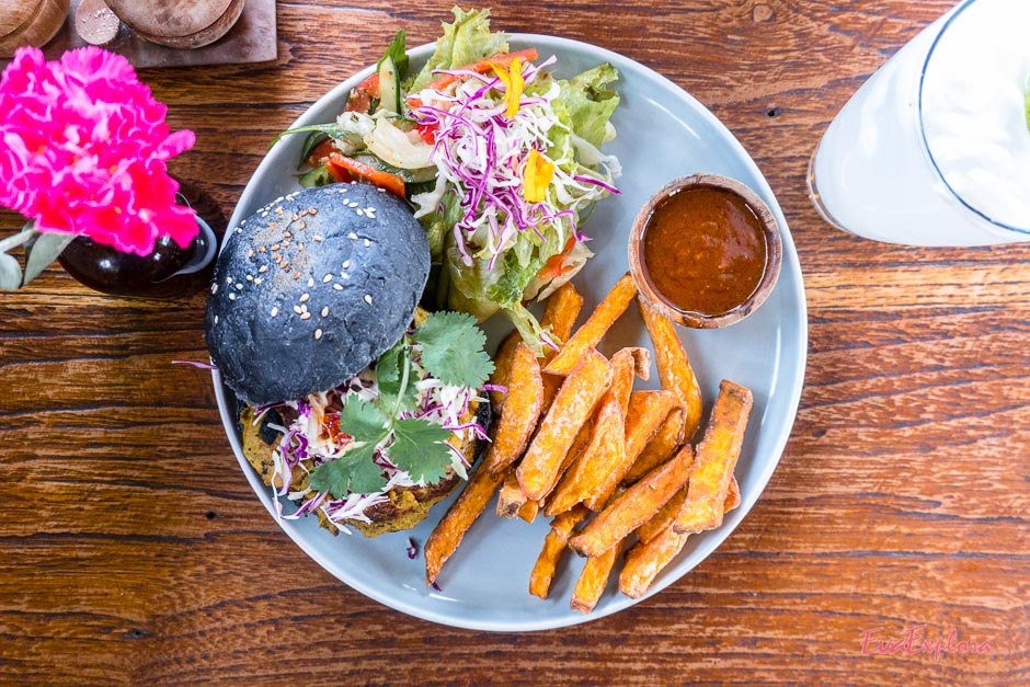 Vegetarischer Burger Canggu