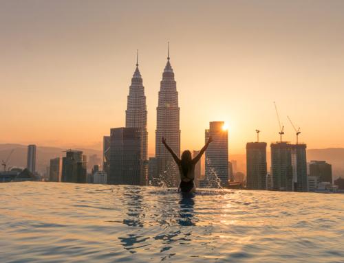 Der geilste Pool in Kuala Lumpur