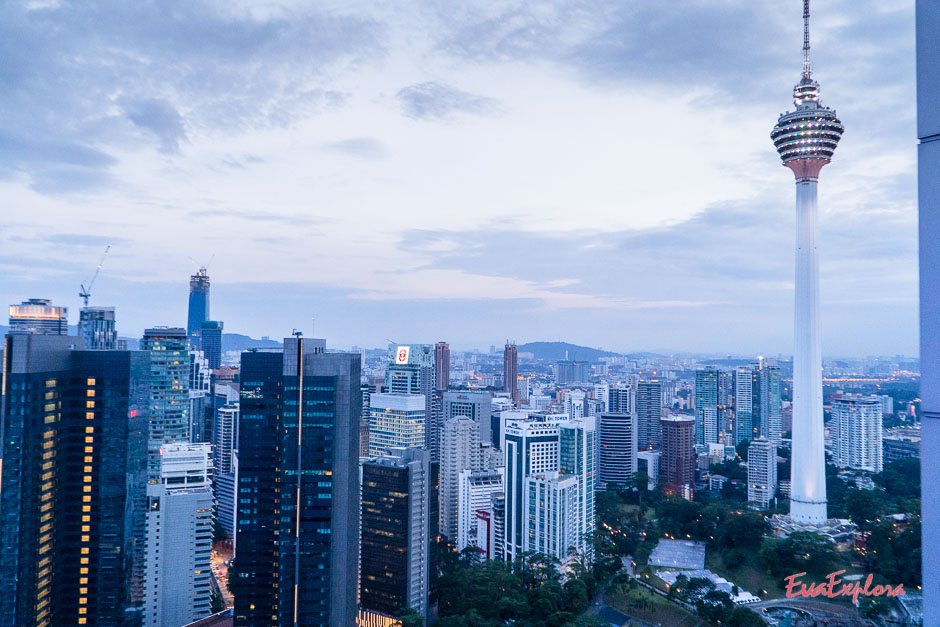 Fernsehturm in Kuala Lumpur