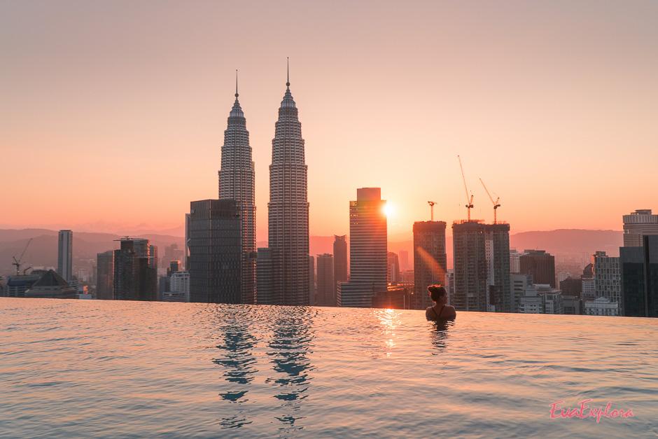 Infinitypool in Kuala Lumpur