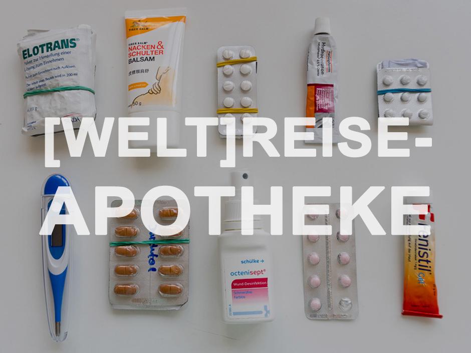 Medikamente fuer Weltreise