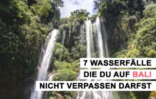 7 Wasserfälle Bali