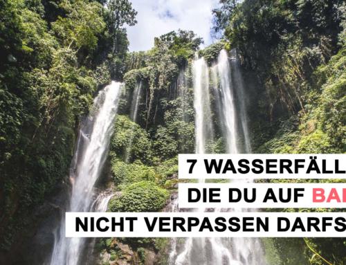 7 Wasserfälle, die du auf Bali nicht verpassen darfst