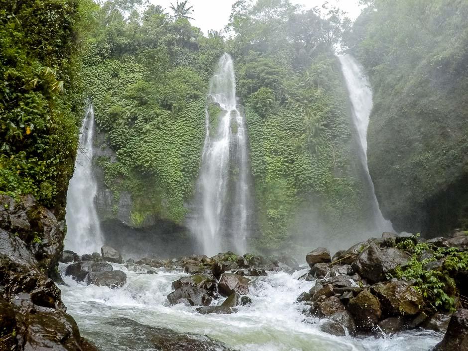 groesster Wasserfall auf Bali