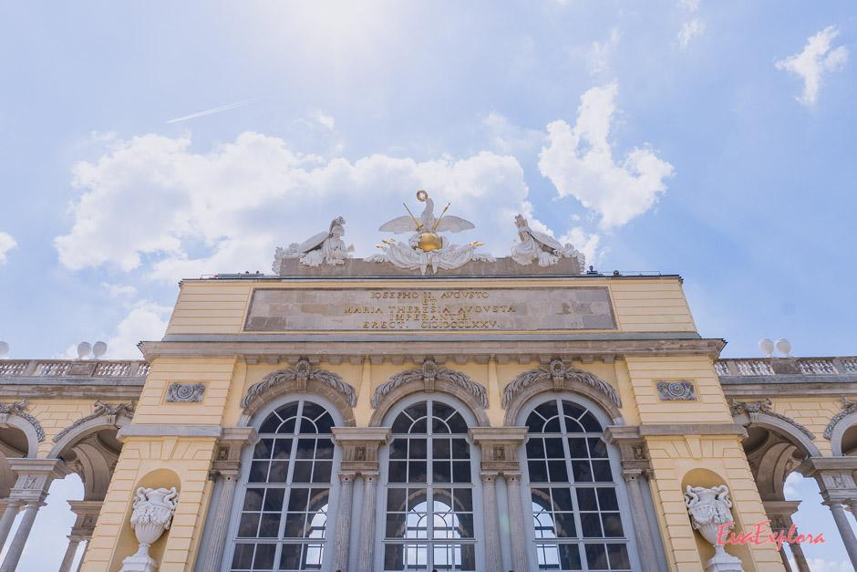 Gloriette Schloss Schoenbrunn