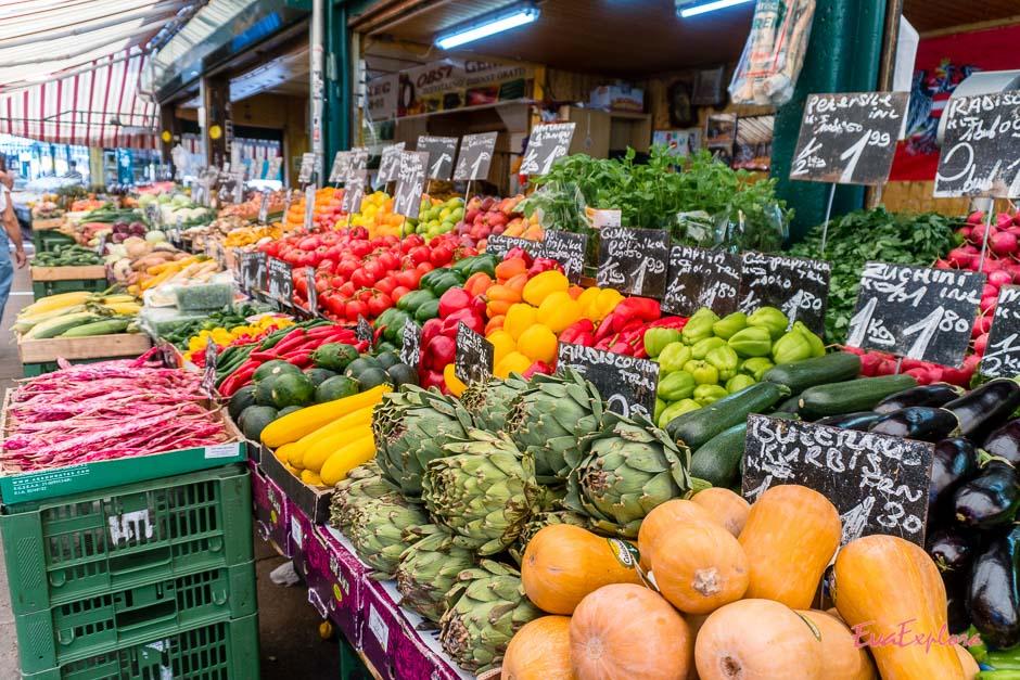 Obst und Gemuese in Wien