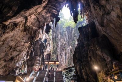So sieht es in den Höhlen von innen aus