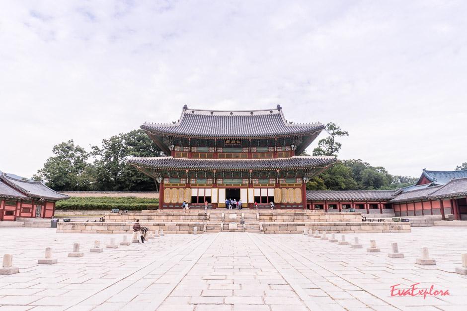 Hauptgebäude des Changgyeonggung Palastes